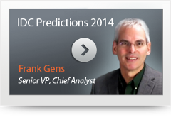 IDC Predictions 2014 Frank Gens video