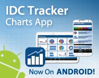 IDC Tracker Charts App Now on Android