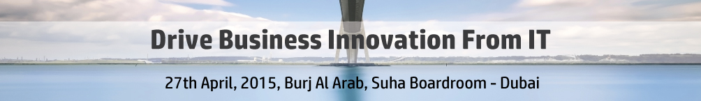 Drive business innovation from IT