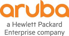 Logo of Aruba, a HPE company