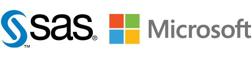 Logo of SAS Microsoft