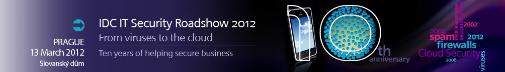 IDC IT Security Roadshow 2012