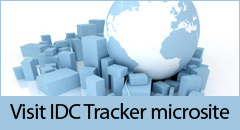 Visit dedicated IDC Tracker microsite