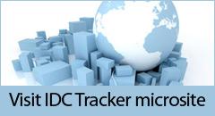 Visit dedicated IDC Tracker microsite